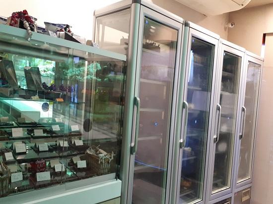 vitrine frigo